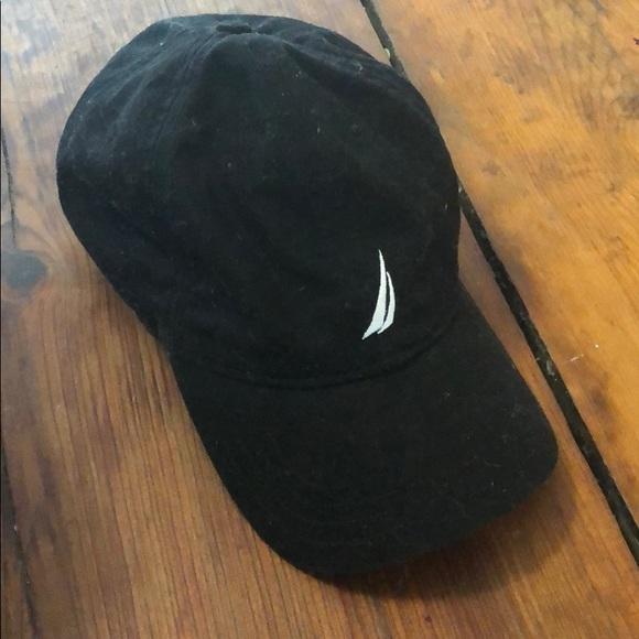 ea99f6a46 Black Nautica hat
